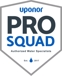 Uponor Pro Squad Authorized Water Specialists